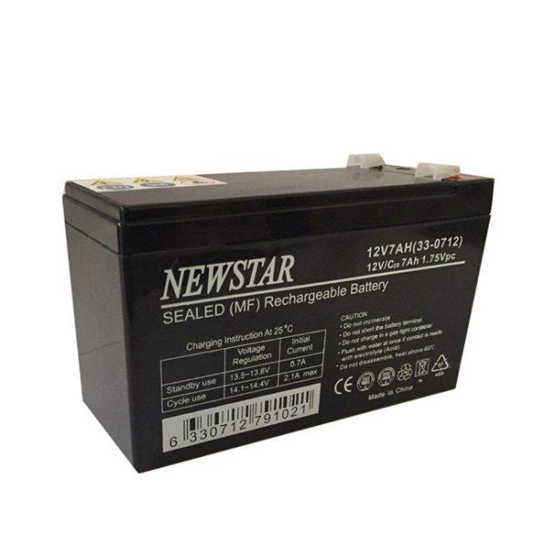 باتری خشک 12 ولت 7 آمپر Newstar
