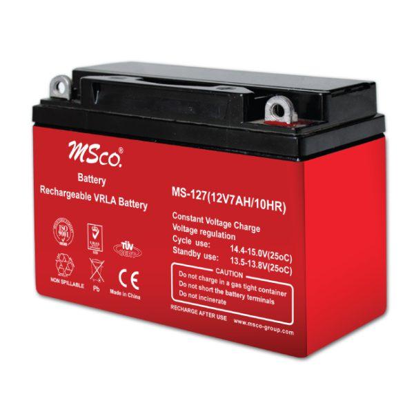 باتری خشک 12 ولت 7 آمپر استارتی