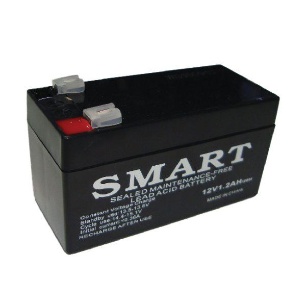 باتری خشک 12 ولت 1.2 آمپر اسمارت