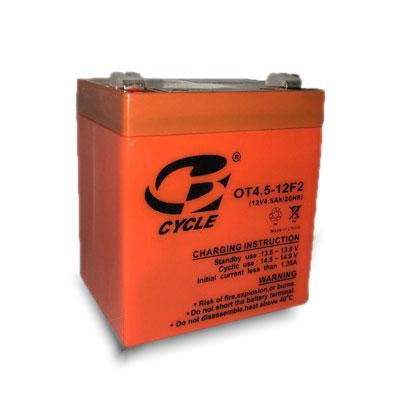 باتری 12 ولت 4/5 آمپر سایکل
