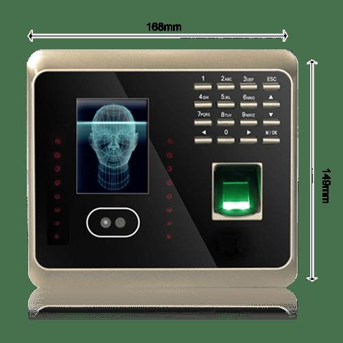 ابعاد دستگاه حضور و غياب KTA-630