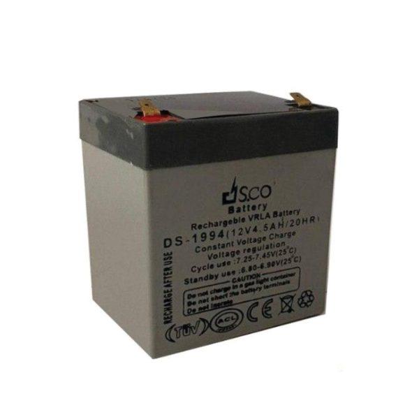 باتری 12 ولت 4/5 آمپر DSCO