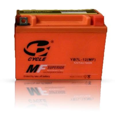 باتری 12 ولت 7 آمپر استارتی سایکل