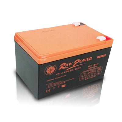 باتری 12 آمپر راوپاور