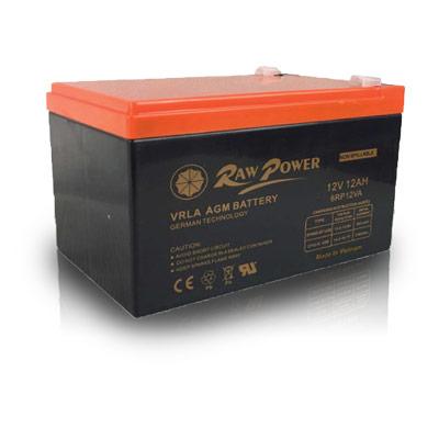 باتری 12 ولت 12 آمپر راوپاور