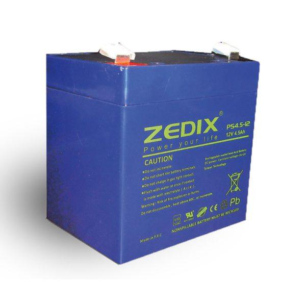 باتری 12 ولت 4.5 آمپر زدیکس